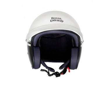 Casco Royal Enfield Sun Peak White Gloss